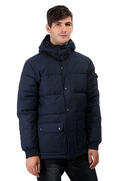 Куртка зимняя DC Arctic 3 Blue IrisМужская куртка Arctic 2 от DC Shoes.Характеристики:Куртка с уплотнителем. Парусиновая ткань из хлопка и нейлона. Водостойкая пропитка степени 600 мм. Съемный капюшон. Манжеты в рубчик. Нарочито стеганый дизайн.Контрастная цветная подкладка из полиэстера. Внутренний карман.Нижние карманы с двойной прорезью – сбоку и сверху. Пластиковая молния и кнопки-застежки DC спереди. Ярлык DC спереди внизу. Фурнитура и отделка с маркировкой DC.<br><br>Цвет: синий<br>Тип: Куртка зимняя<br>Возраст: Взрослый<br>Пол: Мужской