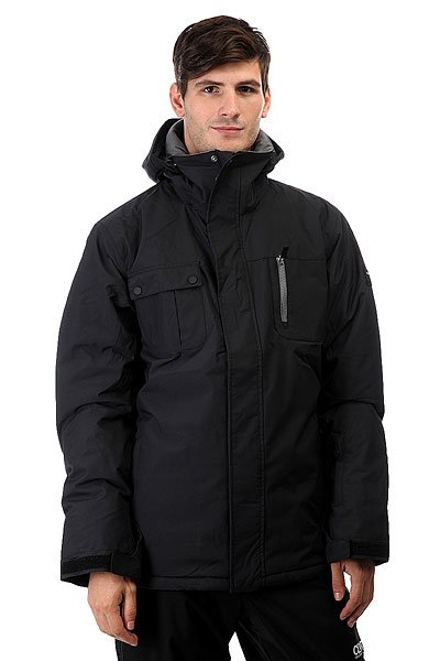Куртка Quiksilver Mission Solid Black