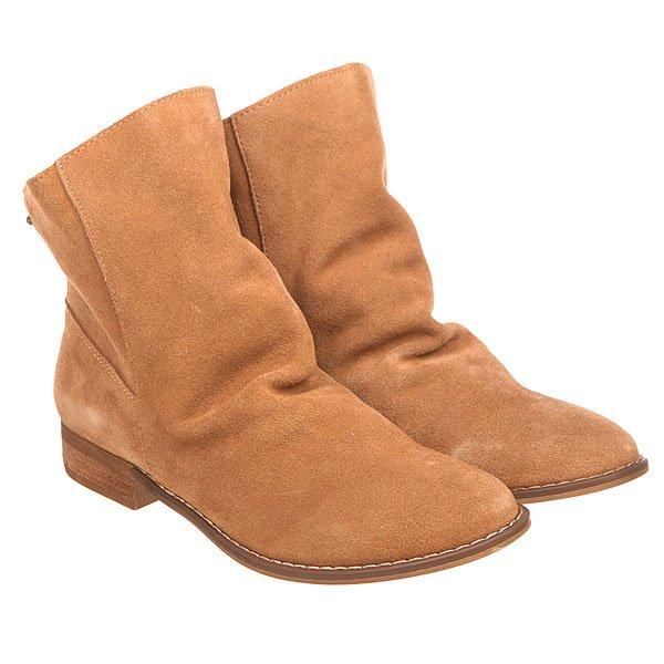 Сапоги демисезонные женские Roxy Leon J Boot TanНизкие женские сапоги из натуральной замши в модном ассиметричном дизайне.Технические характеристики: Стильный замшевый верх.Парусинова подкладка и стелька.Ассиметричный дизайн.Цельный носок.Подошва 100% ТЭП.Металлический значок с логотипом Roxy.<br><br>Цвет: коричневый<br>Тип: Сапоги демисезонные<br>Возраст: Взрослый<br>Пол: Женский
