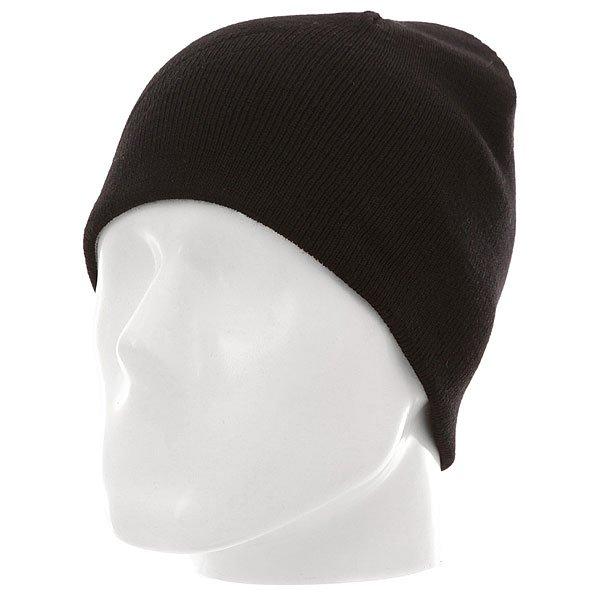 Шапка детская Quiksilver Heatbag Youth Black<br><br>Цвет: черный<br>Тип: Шапка<br>Возраст: Детский
