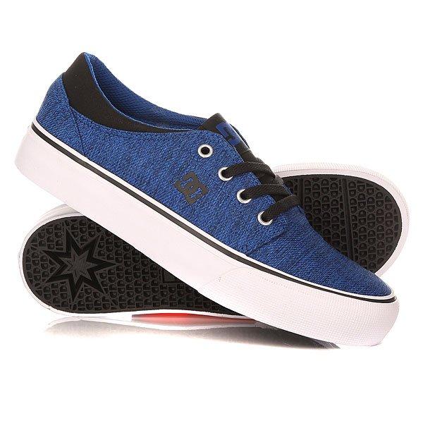 Кеды кроссовки низкие детские DC Trase Tx Se Yth Blue/Black/White