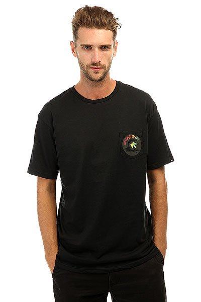 Футболка Quiksilver Classteehotspot Black<br><br>Цвет: черный<br>Тип: Футболка<br>Возраст: Взрослый<br>Пол: Мужской