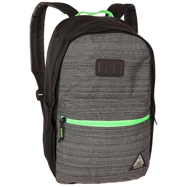Рюкзак городской Ogio Lewis Pack Noise<br><br>Цвет: черный,серый,зеленый<br>Тип: Рюкзак городской<br>Возраст: Взрослый