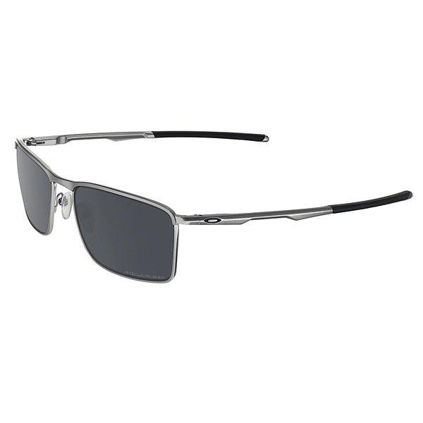 Очки Oakley Conductor 6 Lead/Black Iridium PolarizedУдобные и безопасные очки из легкого и прочного сплава C-5™ с отделкой из материала Unobtainium® с поддержкой Three-Point Fit в чистом, классическом стиле от Oakley.Технические характеристики: Легкий и прочный сплав C-5™.Технология XYZ Optics® гарантирует четкость и ясность.Линза Plutonite® на 100% отфильтровывает все УФ лучи.Покрытие Iridium® балансирует светопропускание.Поляризованные линзы HDPolarized™ на 99% фильтруют отраженный свет без дымки и оптических искажений.Дужки с отделкой из материала Unobtainium®.Поддержка Three-Point Fit, благодаря которой очки всегда останутся на месте.Заполненные воздухом силиконовые носовые упоры.Футляр и чехол в комплекте.Ширина оправы - 13 см, высота линзы - 4 см, длина дужки - 13,5 см.<br><br>Цвет: серый<br>Тип: Очки<br>Возраст: Взрослый<br>Пол: Мужской