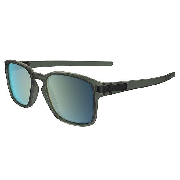 Очки Oakley Latch Squared Matte Olive Ink/Emerald Iridium