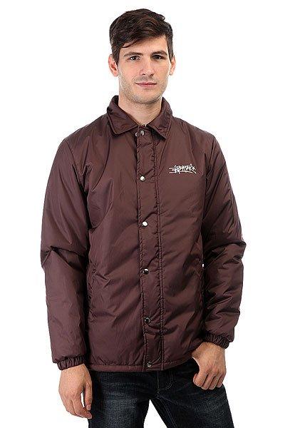Куртка Anteater Wcoach BorboЛегкая тренерская куртка от Anteater на кнопках.Характеристики:Классическая удобная модель. Карманы и основная планка на молнии. Материал:Dewspo. Утеплитель Isosoft. Внутренняя подкладка из тафты. Классический воротник. Принт-логотип на груди.<br><br>Цвет: фиолетовый<br>Тип: Куртка<br>Возраст: Взрослый<br>Пол: Мужской