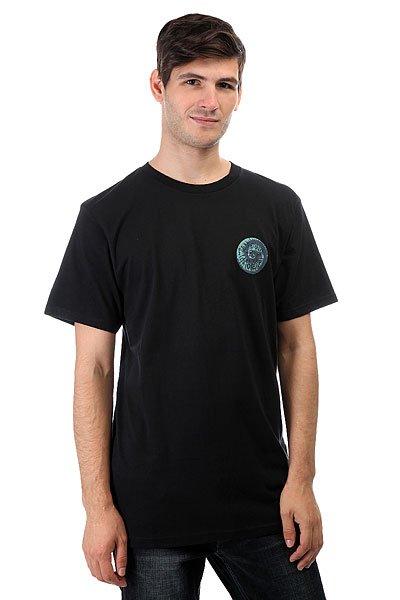 Футболка Quiksilver Amssteelifesatr Black<br><br>Цвет: черный<br>Тип: Футболка<br>Возраст: Взрослый<br>Пол: Мужской