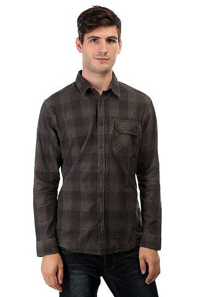Рубашка в клетку Quiksilver Loading Zone Loading Up Dusty Oli<br><br>Цвет: серый<br>Тип: Рубашка в клетку<br>Возраст: Взрослый<br>Пол: Мужской