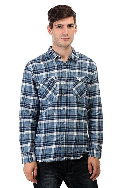 Рубашка в клетку Quiksilver Lost Wave Lost Wave Captain Bl