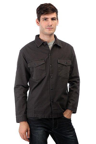 Рубашка Quiksilver Counterfireshir Tarmac<br><br>Цвет: серый<br>Тип: Рубашка<br>Возраст: Взрослый<br>Пол: Мужской