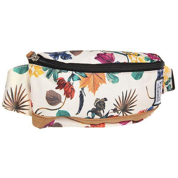 Сумка поясная The Pack Society Bum Bag Multicolor Flower AlloverСтильная и вместительная поясная сумка The Pack Society – разбавь свою осень стильным принтом.Характеристики:Застежка на молнии.Регулируемый ремешок. Логотип-нашивка.<br><br>Цвет: мультиколор<br>Тип: Сумка поясная<br>Возраст: Взрослый<br>Пол: Мужской