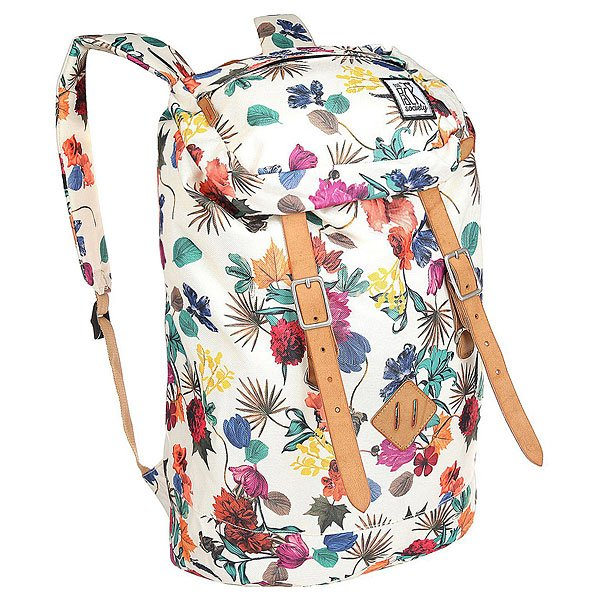 Рюкзак туристический The Pack Society Premium Backpack Multicolor Flower Allover