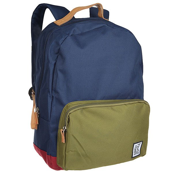 Рюкзак городской The Pack Society D-Pack Backpack Navy/Olive/Burgundy-25