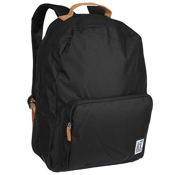 Рюкзак городской The Pack Society D-Pack Backpack Solid Black-01