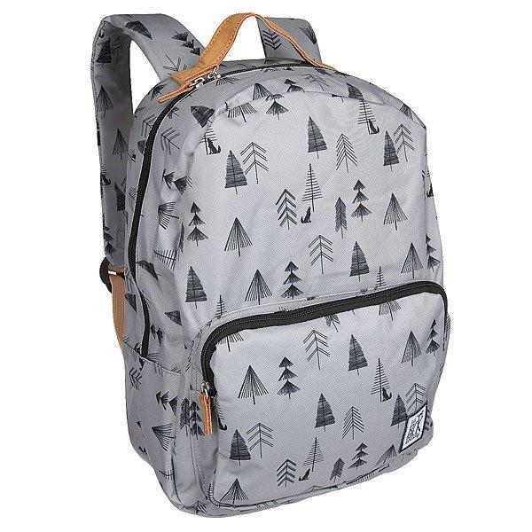 Рюкзак городской The Pack Society Classic Backpack Grey Tree Allover