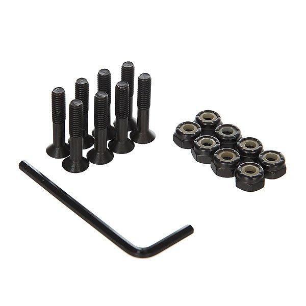 Винты для скейтборда Union Black/Green Allen 1 (8 x Pack)