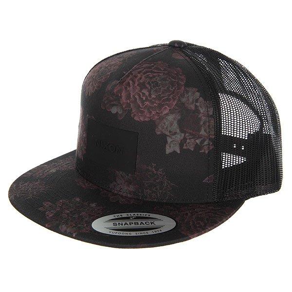 ��������� � ������ Nixon Team Trucker Hat Black/Anthracite