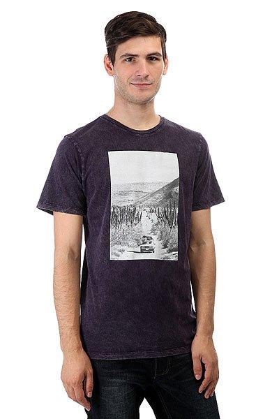 Футболка Nixon Adventure Deep Purple<br><br>Цвет: фиолетовый<br>Тип: Футболка<br>Возраст: Взрослый<br>Пол: Мужской