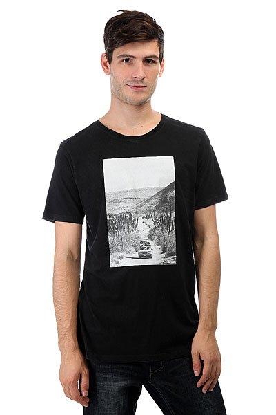Футболка Nixon Adventure Off Black