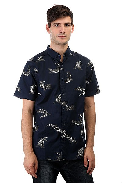 Рубашка Nixon Mainland Navy