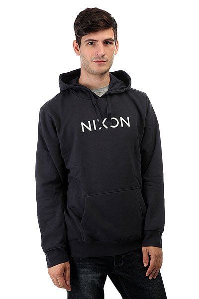 Толстовка кенгуру Nixon Neptune Pullover Hoodie Midnight Navy cool men watch double time stopwatch luminous timing ring alarm 12 24 hour men wrist watch clock relogio masculino watch