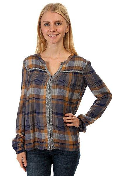 где купить  Блузка женская Roxy Keep Marta Plaid Combo Sm  по лучшей цене