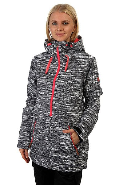 Куртка женская Roxy Valley Hood Jk Bounding True Black