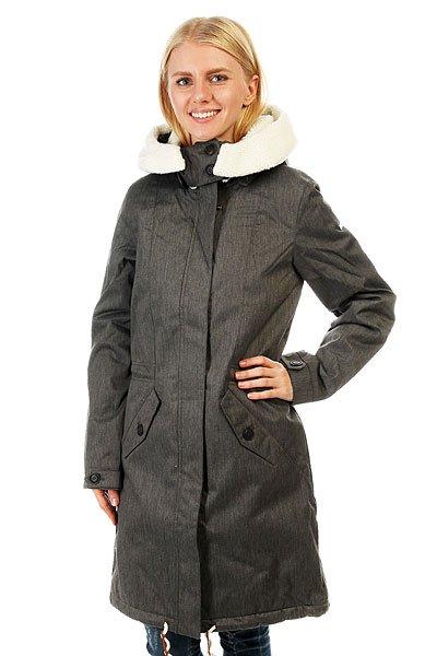 Куртка парка женская Roxy Lucie Charcoal Heather куртка парка женская roxy ferley j military olive