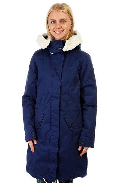 Куртка парка женская Roxy Lucie Blue Print куртка парка женская roxy ferley j military olive