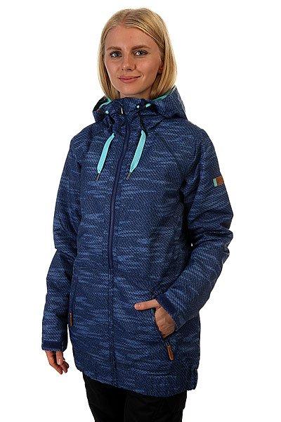 Куртка женская Roxy Valley Hood Bounding_blueprintЧто может отличить хорошую сноубордическую куртку? Тесное переплетение стиля и функциональности. Когда дело доходит до создания качественной и красивой одежды для катания, команда Roxy вырывается далеко вперед. Девушкам-райдерам придется по вкусу лаконичный стиль куртки Roxy Valley Hoodie и лучшее из мира технологических открытий: водонепроницаемый мембранный материал Dry Flight 10К будет отлично защищать Вас от снега, влаги и ветра, а качественный утеплитель поддержит тепло даже в сильнейший мороз - всё, чтобы катание было продолжительным и максимально комфортным.Характеристики:Водонепроницаемый мембранный материал Dry Flight 10К (10 000 мм / 10 000 г) с отличными дышащими свойствами.Утеплитель: 100 г тело, 100 г рукава, 60 г капюшон. Подкладка из тафты.Приталенный силуэт. Швы проклеены в критических местах. Регулируемый капюшон. Отстегивающаяся снегозащитная юбка из тафты. Система прикрепления куртки к штанам. Защита подбородка от натирания. Клипса для ключей. Медиа-карман.Внутренний карман для маски. Карман для ски-пасса на рукаве. Внутренние манжеты из лайкры. Регулируемые манжеты на липучке. Вентиляции с сетчатой подкладкой. Коллекция Essentials. Состав: 100% полиэстер.<br><br>Цвет: синий<br>Тип: Куртка утепленная<br>Возраст: Взрослый<br>Пол: Женский