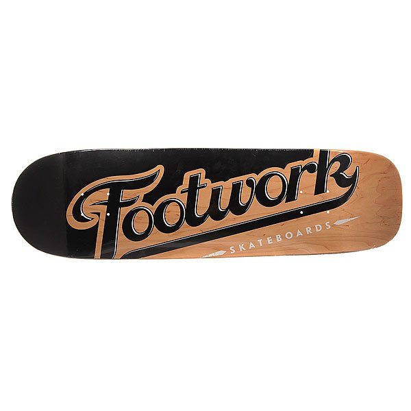 Дека для скейтборда для лонгборда Footwork Original Lucky Natural 9 x 32.25 (82 см)