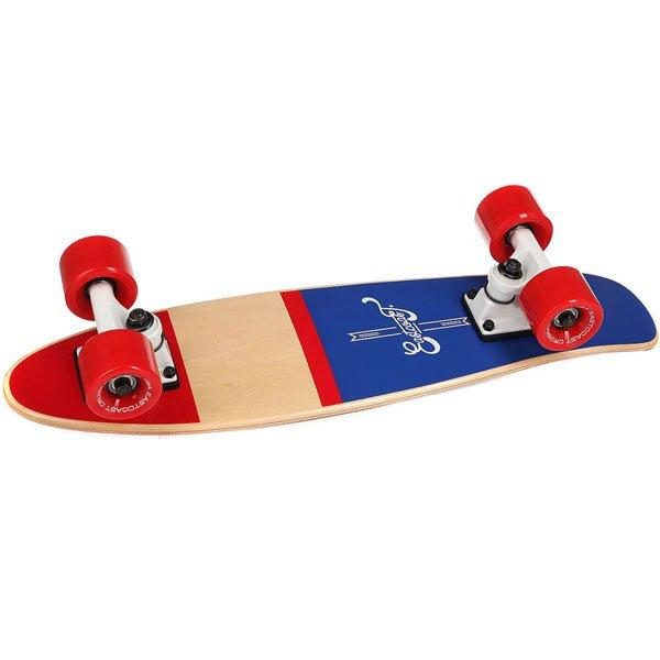 Скейт мини круизер Eastcoast Shelby Nautica 6.25 x 23 (58.4 см)Всеми любимая форма мини круизера из канадского клена. Стильный, легкий, маневренный и устойчивый. Ни что не сможет заменить настоящие ощущения деревянного скейтборда под ногами!Технические характеристики: Длина - 58,4 см, ширина - 16 см.7 слоев канадского клена.Плоский конкейв с киктейлом.Подвески Footwork.Колеса Eastcoast 59 мм 78 А.Подшипники Abec 7.Прозрачная шкурка.<br><br>Цвет: бежевый,красный,синий<br>Тип: Скейт мини круизер<br>Возраст: Взрослый<br>Пол: Мужской
