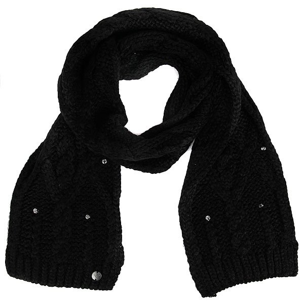 Шарф женский Roxy Shootstarscarf True Black roxy гейтор roxy winter true black fw17
