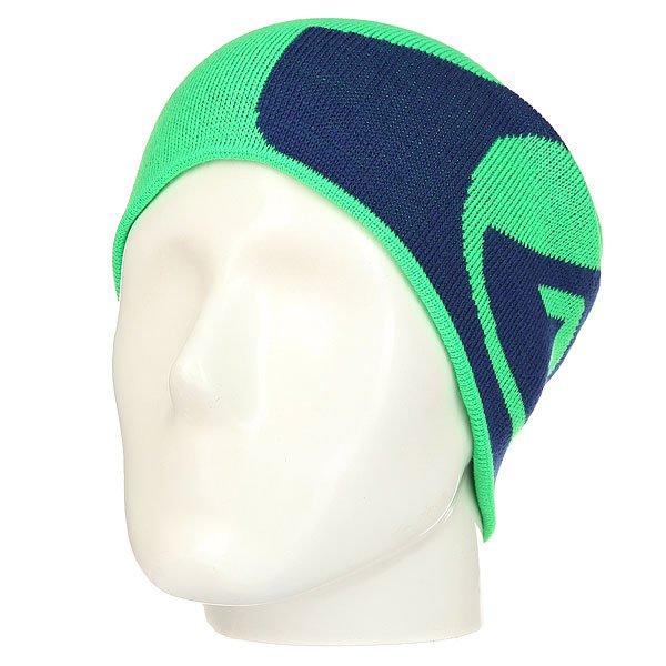 Шапка носок Quiksilver M&amp;w Andean Toucan<br><br>Цвет: зеленый,синий<br>Тип: Шапка носок<br>Возраст: Взрослый<br>Пол: Мужской