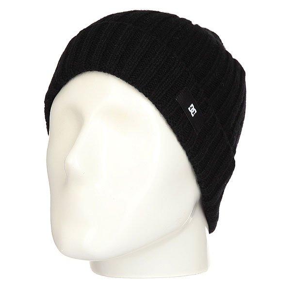Шапка DC Flathead Black<br><br>Цвет: черный<br>Тип: Шапка<br>Возраст: Взрослый<br>Пол: Мужской
