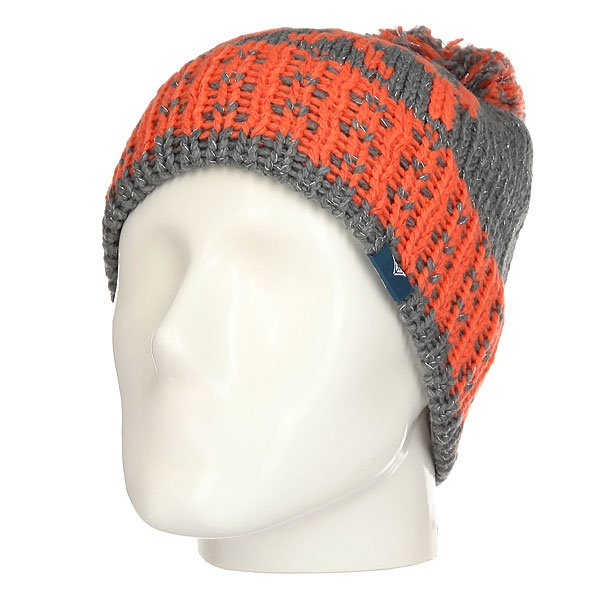 Шапка женская Roxy Fjord Mid Heather Grey