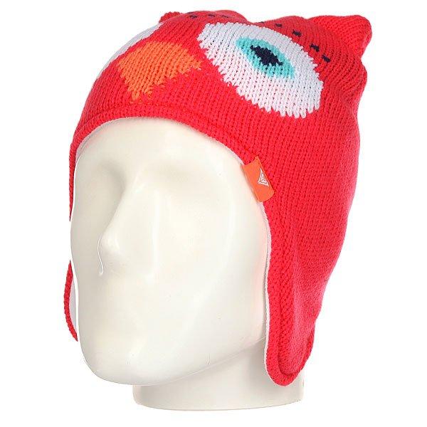 Шапка ушанка детская Roxy Owl Teeni Paradise Pink