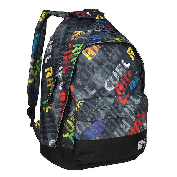 Рюкзак городской Rip Curl Double Dome Mamafont Black Tu