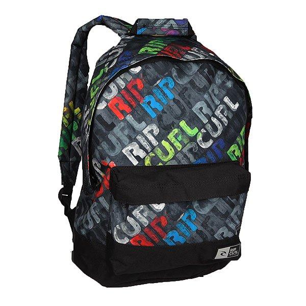 Рюкзак городской Rip Curl Dome Mamafont Black TuНевероятно стильный городской рюкзак, который будет отлично сочетаться с любым Вашим образом.Удобная конструкция с одним просторным отделением не позволит Вам потерять необходимую вещь, а во внешний кармашек можно положить, например, студенческий билет или проездной, чтобы не нужно было долго искать его по сумке.Характеристики:Просторное основное отделение. Внешний карман на молнии. Эргономичные плечевые ремни. Удобная петля для переноски.Уплотненное дно и спинка.<br><br>Цвет: мультиколор<br>Тип: Рюкзак городской<br>Возраст: Взрослый<br>Пол: Мужской