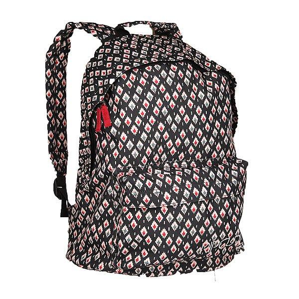 Рюкзак городской женский Rip Curl Oosta Dome Black TuНевероятно стильный городской рюкзак, который будет отлично сочетаться с любым Вашим образом.Удобная конструкция с одним просторным отделением не позволит Вам потерять необходимую вещь, а во внешний кармашек можно положить, например, студенческий билет или проездной, чтобы не нужно было долго искать его по сумке.Характеристики:Просторное основное отделение. Внешний карман на молнии. Эргономичные плечевые ремни. Удобная петля для переноски.Уплотненное дно и спинка.<br><br>Цвет: черный,мультиколор<br>Тип: Рюкзак городской<br>Возраст: Взрослый<br>Пол: Женский