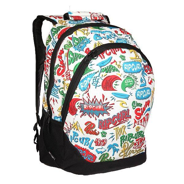 Рюкзак школьный Rip Curl Proschool Lettring White Tu