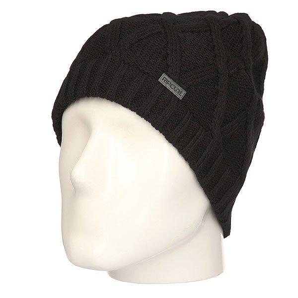 Шапка Rip Curl Ledge Beanie BlackУютная и теплая шапка-«носок» для комфортных прогулок осенью и зимой.Характеристики:Металлический логотип. Крупная вязка.Эластичная манжета.<br><br>Цвет: черный<br>Тип: Шапка<br>Возраст: Взрослый<br>Пол: Мужской