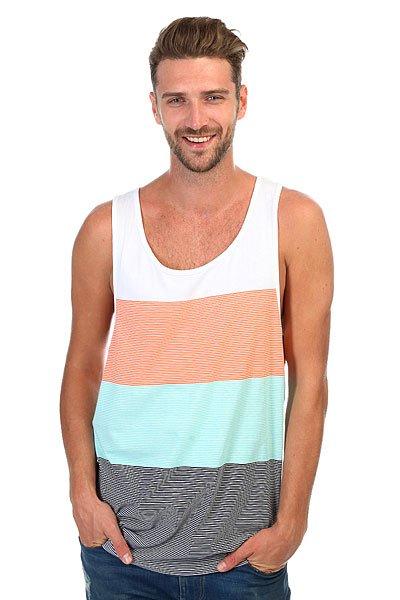Майка Rip Curl Essential Stripes Tank Mood Indigo<br><br>Цвет: мультиколор<br>Тип: Майка<br>Возраст: Взрослый<br>Пол: Мужской