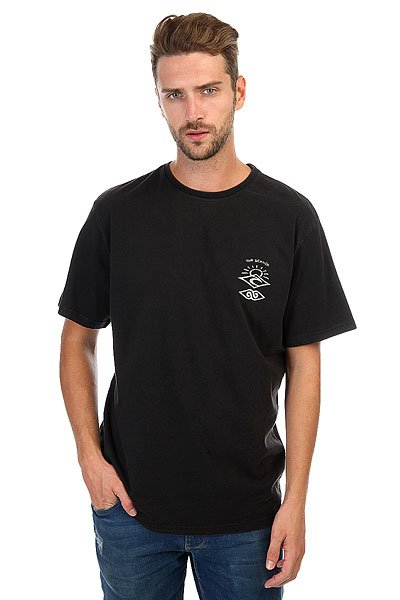 Футболка Rip Curl Back To The Search Black футболка rip curl rip curl ri027ewswz96