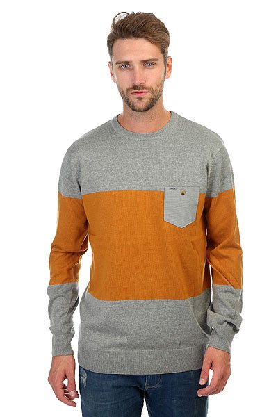 Джемпер Rip Curl Sliced Sweater Beton Marle