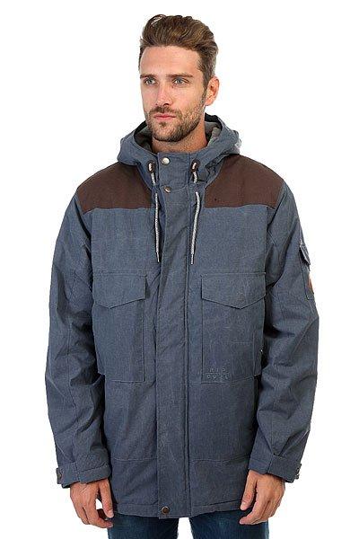 Куртка зимняя Rip Curl Control Anti Jacket Mood IndigoМужская куртка для сноубординга с мембраной 10К/5К на уютной и технологичной подкладке POLAR.Технические характеристики: Уютная подкладка POLAR.Полностью проклеенные швы.Водоотталкивающая обработка DWR.Регулируемый 3D капюшон.Нагрудные карманы с клапаном, боковые карманы для рук и карман на рукаве.Внутренние карманы для аудио и аксессуаров.Подол на утяжке для защиты от ветра.Застежка на металлической молнии и ветрозащитный клапан на кнопках по всей длине куртки.<br><br>Цвет: синий<br>Тип: Куртка зимняя<br>Возраст: Взрослый<br>Пол: Мужской
