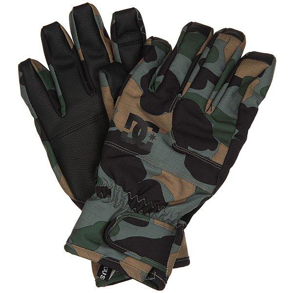 Перчатки сноубордические DC Seger Glove Camouflage LodgeТеплые и водонепроницаемые перчатки, с которыми Вы всегда будете на связи. Благодаря специальной вставке на указательном пальце, Вы сможете без проблем пользоваться гаджетами и при этом не мерзнуть на холоде.Характеристики:Мембранный материал 10К. Утеплитель 150 г. Специальная вставка на указательном пальце, позволяющая пользоваться сенсорным экраном. Вставка из замши на большом пальце для протирания маски.Регулируемая манжета на липучке. Регулируемый шнурок. Фирменный логотип. Материал: вощеный полиэстер, полиуретан и замша.<br><br>Цвет: зеленый,черный,коричневый<br>Тип: Перчатки сноубордические<br>Возраст: Взрослый<br>Пол: Мужской