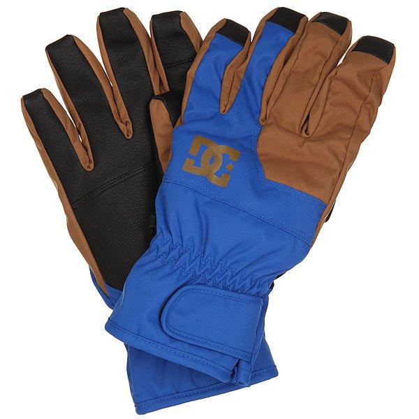 Перчатки сноубордические DC Seger Glove Nautical Blue