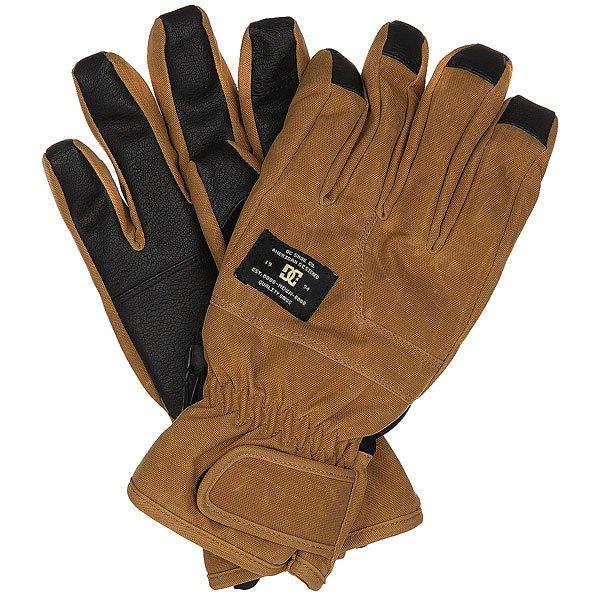 Купить со скидкой Перчатки сноубордические DC Seger Glove Dull Gold