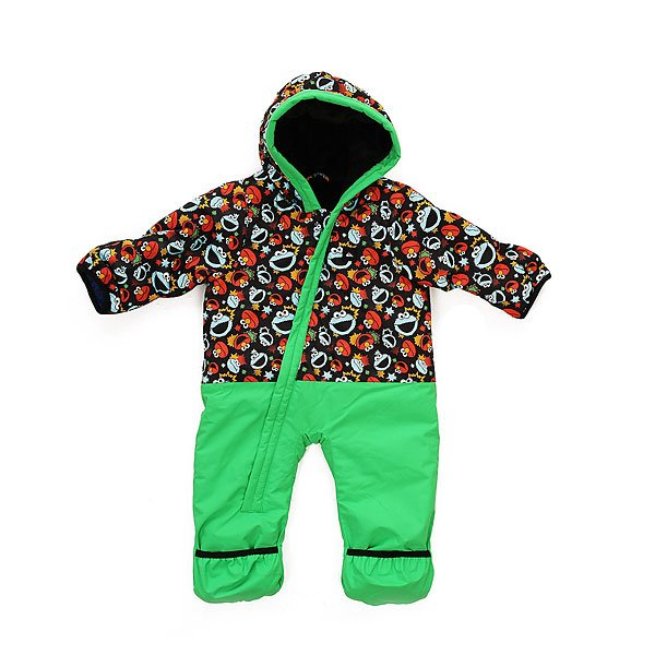 Комбинезон сноубордический детский Quiksilver Little Rookie Sesame Street Cookie